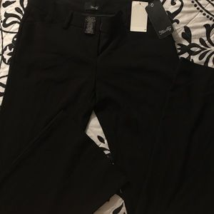 Stretchy black dress pants